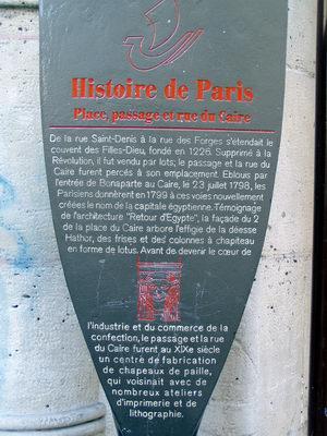 Le Caire à Paris 2